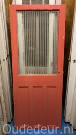 nr. 2383 oude deur met canale glas