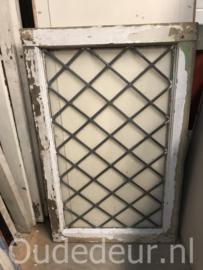 nr. GL407 glas in lood raam wyberttjes