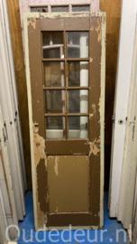 nr. 2381 oude deur  met glas