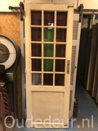 nr. 2309 oude deur met ruiten