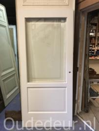 nr. GL541 deur met facet geslepen glas