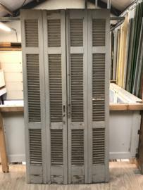 nr. L334 set oude louvre deuren