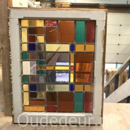 nr. GL429 glas in lood raam