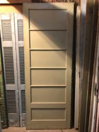 nr. 1174 oude paneeldeur met 6 panelen