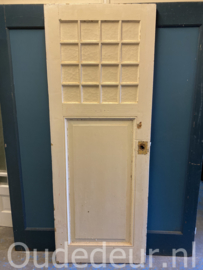 nr. 1106 antieke deur met 15 ruitjes
