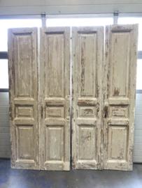 nr. set 779 set oude deuren white wash