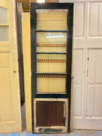 nr. 1284 antiek glasdeurtje