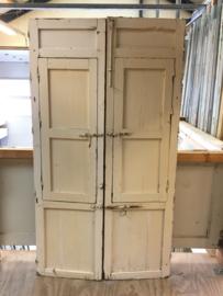 nr. set482 antieke spaanse raamluiken