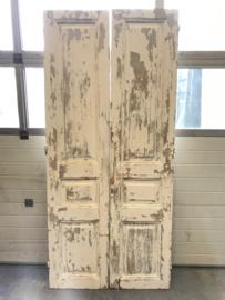 nr. set783 set antieke deuren half geloogd