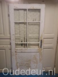 nr. 1325 oude deur met glas