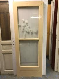 nr. 2219 glasdeur met 2 ruiten