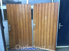 nr. v169 erg brede dichte schuurdeuren / voordeuren