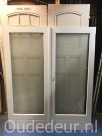 nr. set813 set jaren dertig deuren met glas