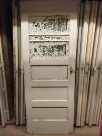 nr. 8c jaren dertig deur met drie ruiten