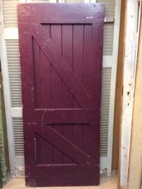 nr. 4076 opgeklampte deur (loft deur)