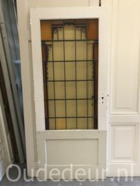 nr. GL453 glas in lood deur