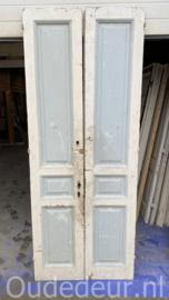 nr. set592 set gekleurde deuren
