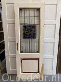 nr. GL.478  glas in lood deur  Bond zonder naam