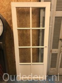 nr. 2283 lage deur met ruiten