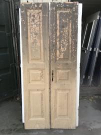 nr. set939 stel smalle oude deuren