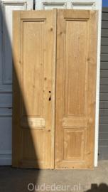 nr. set448 antieke geloogde deuren