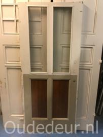 nr. 1289 oude deur met draadglas