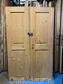 nr. set533 set lage oude grenen deuren
