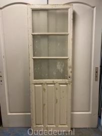 nr. 2366 antieke deur 3 ruiten