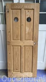 nr. 1531 oude deur kaal gemaakt