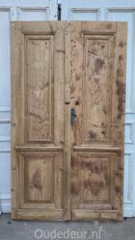 nr. set449 antieke geloogde deuren