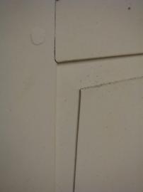 nr. 6a antieke deur met een ruit