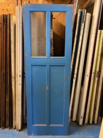 nr. 23 antieke paneeldeur met twee ruiten