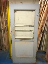 nr. 2181 oude (klap) deur met veel glas