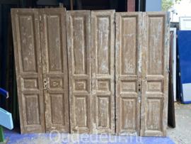 nr. set631 3.5 setjes oude deuren