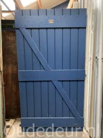 nr. 4476E opgeklampte deur