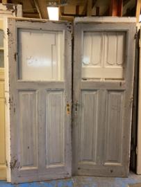 nr. 1032a antieke deuren met 1 ruit