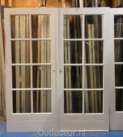 nr. set884E dubbele bruynzeel deuren
