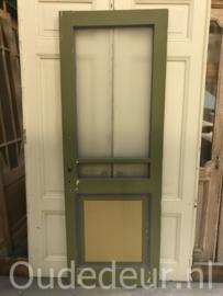 nr. gl340 oude glas deur