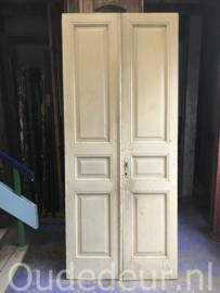 nr. set406 set antieke witte deuren