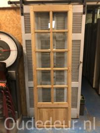 nr. 2305 kaal gemaakte deur met facet glas