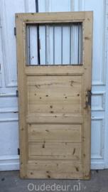 nr. 1451 antieke geloogde deur