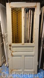 nr. 1411 antieke glasdeur 2 ruiten