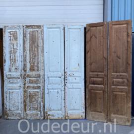 nr. set587 serie van 5 sets hoge antieke deuren