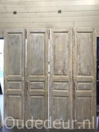 nr. set978 drie gelijke sets oude deuren