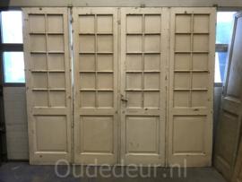 nr. set 687 vierslag glasdeuren
