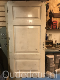 nr. 1385  brede drievaks deur, twee stuks