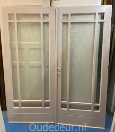 nr. set559 set deuren met ruitverdeling