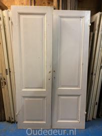 nr. 1h twee gelijek antieke kast deuren