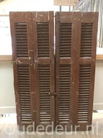 nr. L531 4 lage louvre deuren