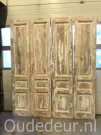 nr. set711 nog een set oude deuren